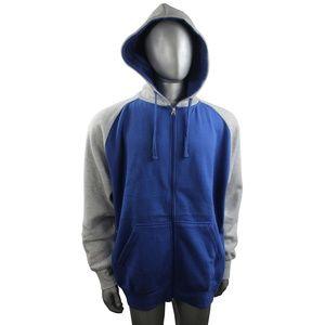 Brand New Zip up hoodie Two Color Zipper Hoodies L